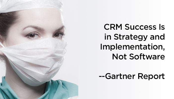 CRM Success is in Strategy and Implementation, Not Software --Gartner Report