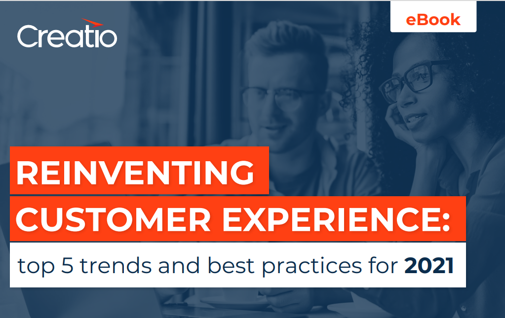Creatio report about evolving customer relationships