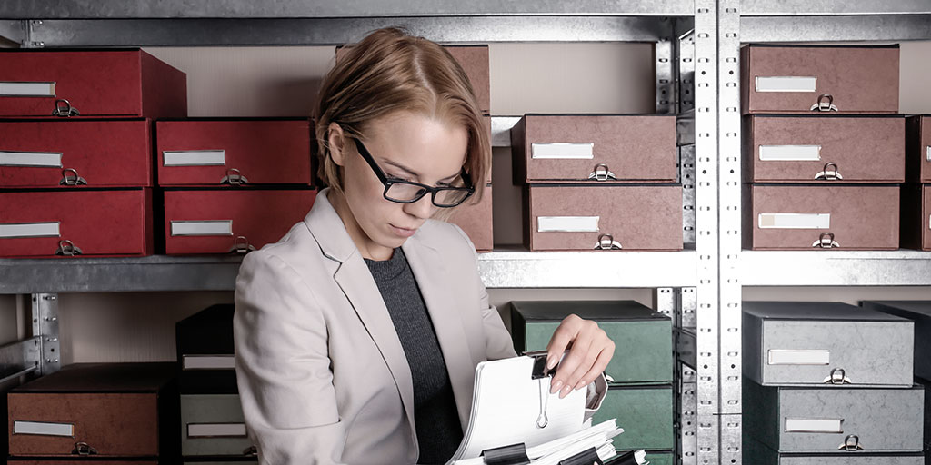 An account in SharpSpring lead management is just like a folder in a digital filing cabinet [image]